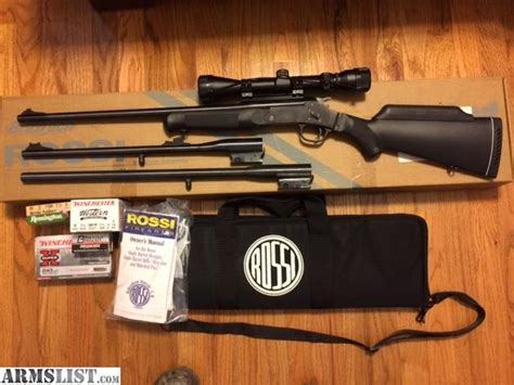 Sale Trifecta by Armslist For Sale Trifecta Youth 22 20ga 243 Scoped