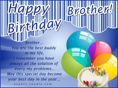Birthday Cards For Brothers Birthday Cards Festival Around The World