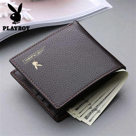 Pb Brown dompet pria model bifold wallet pb 001 brown