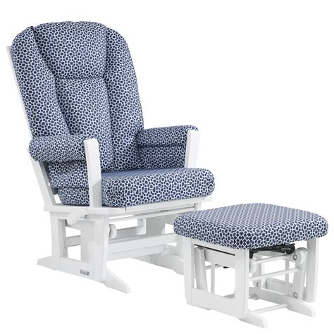 glider with nursing ottoman dutailier multi position recline modern glider nursing