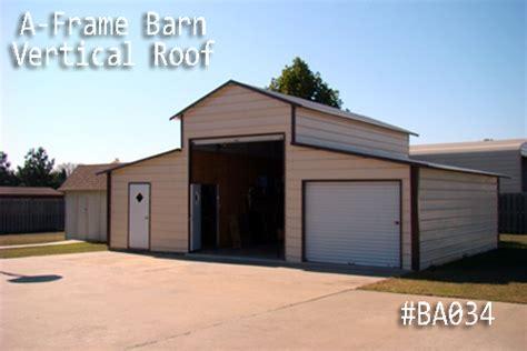 a frame barns