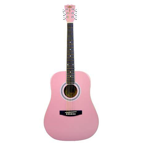 Gitar Akustik Dreadnought Pink r b 36 quot acoustic guitar light pink gear guerilla reverb