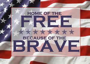 home of the free because of the brave shirt independence day home of the free because of the brave