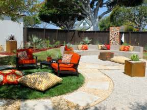 Firepit In Backyard Backyard Pit Ideas With Simple Design