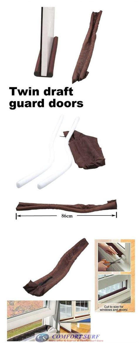 Draft Guard Dust Heat Stopper Penahan Udara draft door guard blocking dust door clean