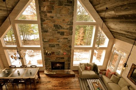 Rustic Cottage Interiors by Cozy Rustic Family Cottage Cabin Rustic Family Room