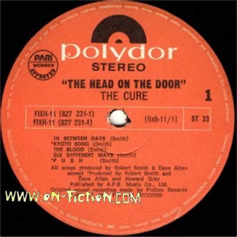 The Cure The On The Door by The On The Door The Cure