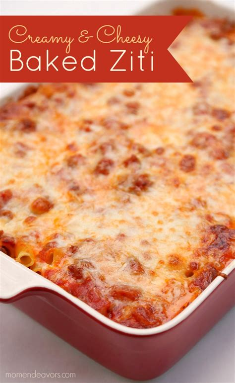 best baked ziti recipe cheesy baked ziti recipe