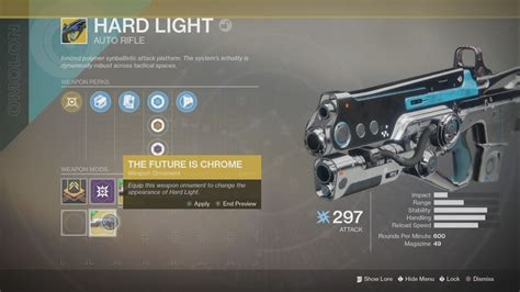 light destiny 2 the future is chrome ornament light destiny 2