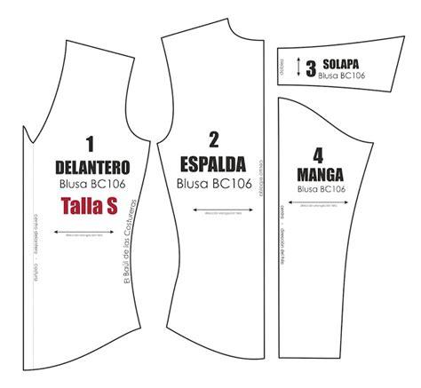 moldes gratis de faldas para imprimir moldes de ropa y molde de costura gratis para blusa manga larga talla s m l