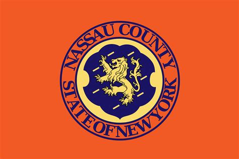 Nassau County Search File Flag Of Nassau County Ny Png Wikimedia Commons
