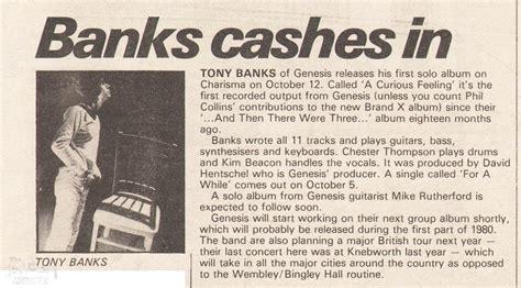tony banks soundtracks album tony banks the genesis archive