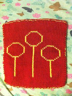 knitting rubber sts ravelry guenevol s harry potter knit blanket