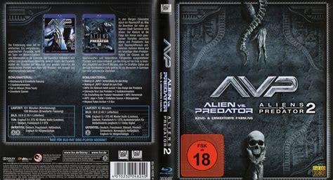 Bluray Ori The Predator vs predator 1 2 cover 2009 r2 german