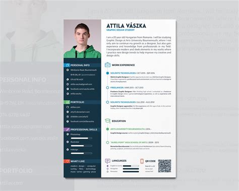 curriculum vitae sles for web designer cv resume design by atty12 on deviantart