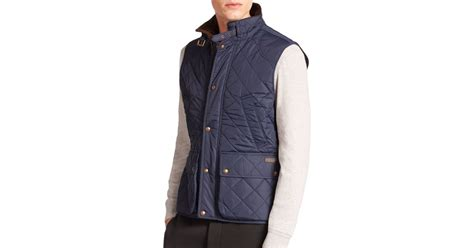 Polo Quilted Vest by Polo Ralph Southbury Quilted Vest In Blue For