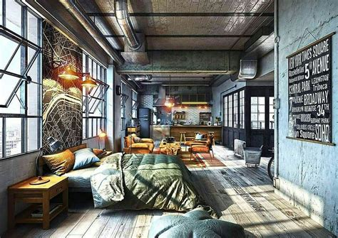 industrial style homes best 25 loft decorating ideas on pinterest loft style