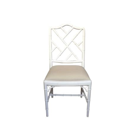 White Gloss Dining Chairs European Design Chinoise Chippendale Dining Chair In White Gloss