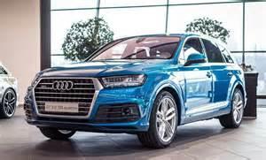 Blue Audi Q7 Exclusive Blue Audi Q7
