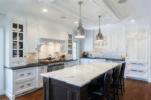 kitchen islands with granite countertops granite or marble kitchen island countertops