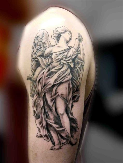 angel tattoo arm designs guardian tattoos search tattoos