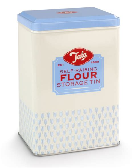 flour storage ideas tala originals retro design self raising flour storage tin