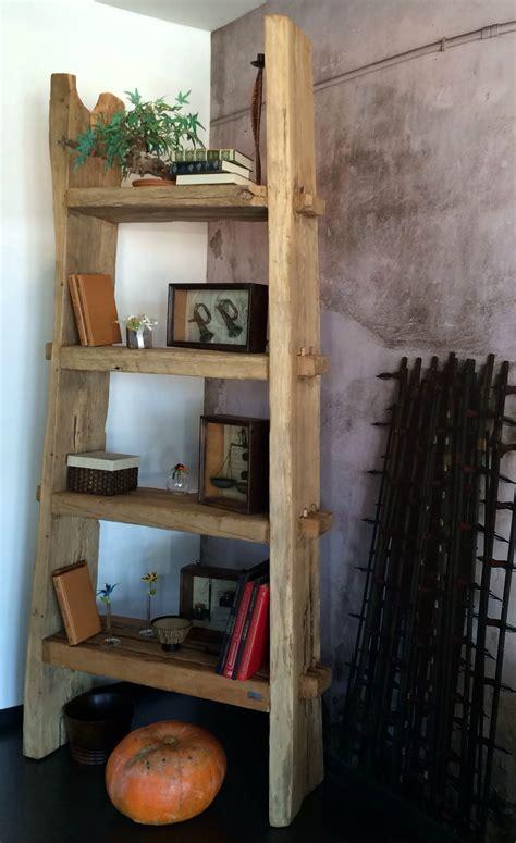 libreria natura libreria nature design con assi di legno antico