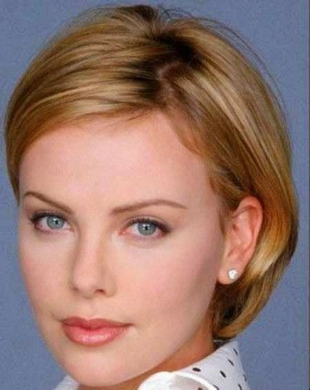 haircuts for fine straight hair round face short hairstyles for fine hair oval face
