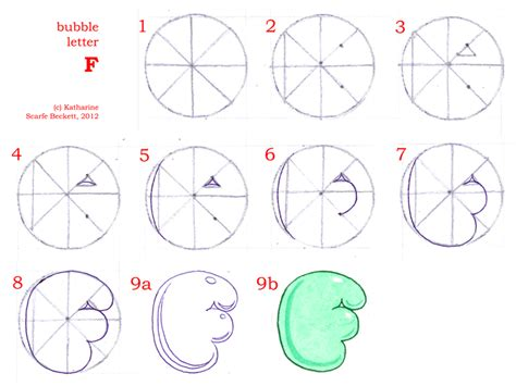 how to draw letter r s u f t and