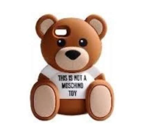Moschino Teddy Iphone phone cover teddy teddy phone cover