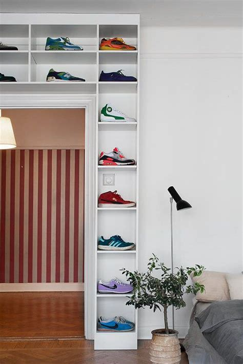 Shoe Rack Organizer Closet Door For Bedroom Bedroom Pinterest 28 Creative Shoe Storage Ideas That Won T Take Much Space Shelterness