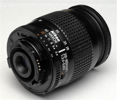 the nikon af nikkor 28 80 mm f 3 5 5 6 d i lens specs