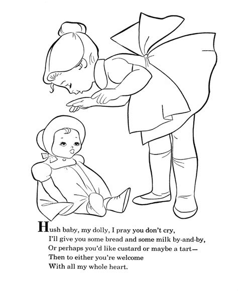 Peter Peter Pumpkin Eater Coloring Pages Pumpkin Eater Coloring Page