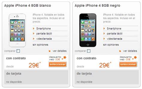 imagenes iphone 4 8gb orange publica los precios para adquirir el iphone 4 de 8gb