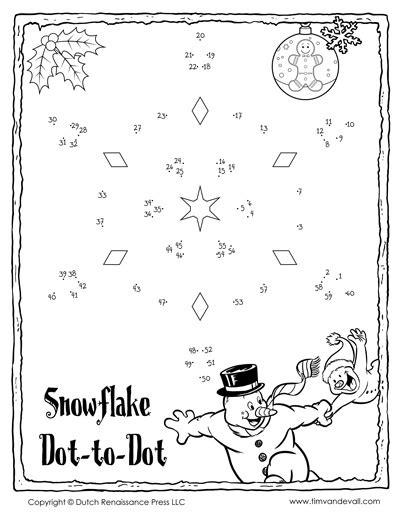printable dot to dot winter christmas dot to dot for kids printable holiday connect