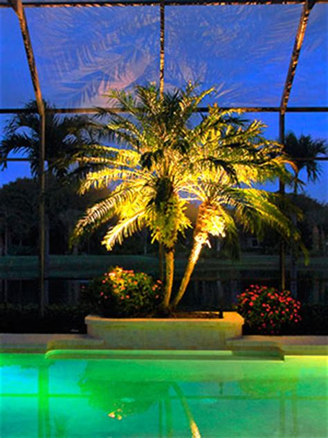 Southwest Patio Beautiful Lanai Lighting Ft Myers Naples Cape Coral