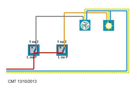 Comment Brancher Un Extracteur De Salle De Bain by Bricolage Forum 201 Lectricit 233 Sch 233 Ma Branchement