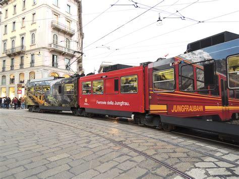 trenino a cremagliera miracolo a il jumbo tram si traveste da trenino a