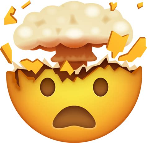 exploding face emoji iphone emoji apple emoji emoji