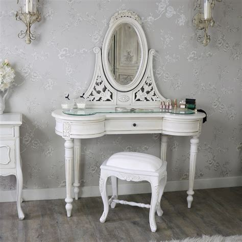 vintage dressing table with mirror and stool antique dressing table mirror and stool set