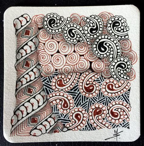 zentangle pattern websites 1000 images about tan tiles on pinterest