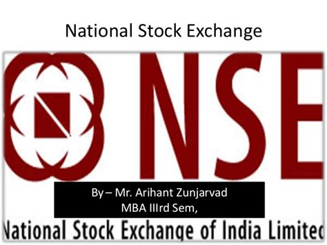 National Stock Exchange Mba Courses by Nse Products
