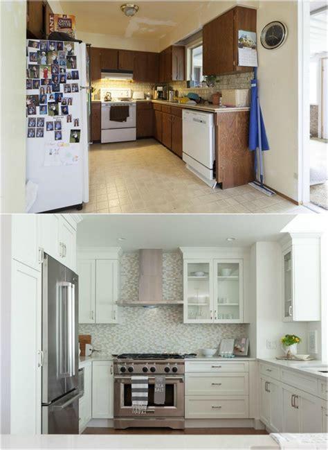 cuisine avant apr鑚 relooking relooking cuisine bois en 18 photos avant apr 232 s