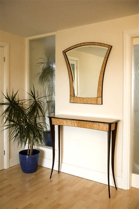 Hallway Table And Mirror Crafted Table And Mirror By Nicholas Chandler Furniture Designs Custommade