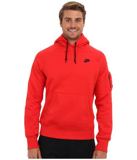 Sweater Hoodie nike aw77 logo fleece pullover sweater vest