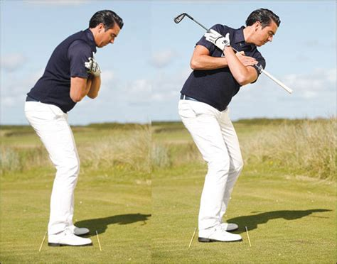 golf swing left knee action improve your swing dna