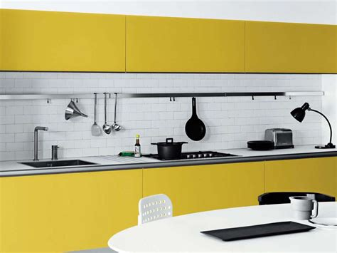 yellow kitchen white cabinets cool white and yellow kitchen design vetronica by meson