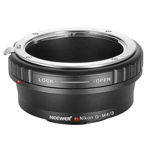 Lens Mount Adapter For Nikon G Lens To Sony E Mount neewer lens mount adapter nikon g lens to micro 4 3 m4 3 mount adapter ebay