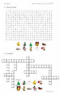 worksheet christmas pdf