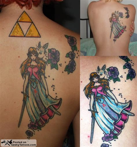 twilight princess tattoo geeky tattoos part 42